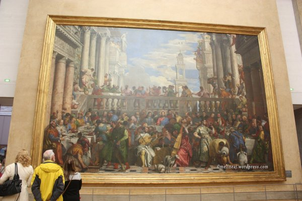At the Louvre Museum Paintings