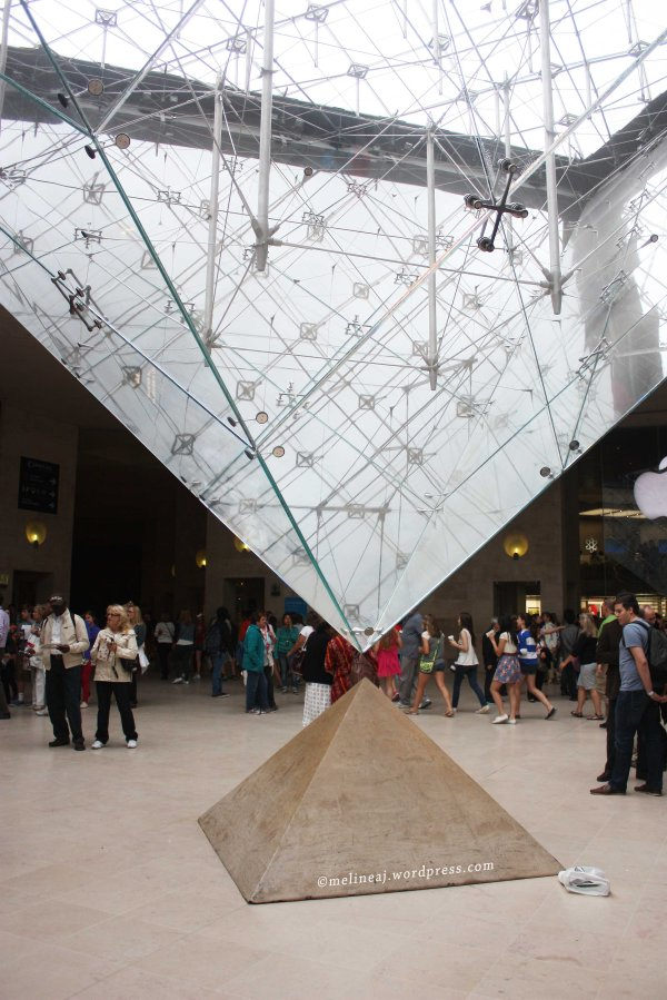 Inside Louvre Museum Paris