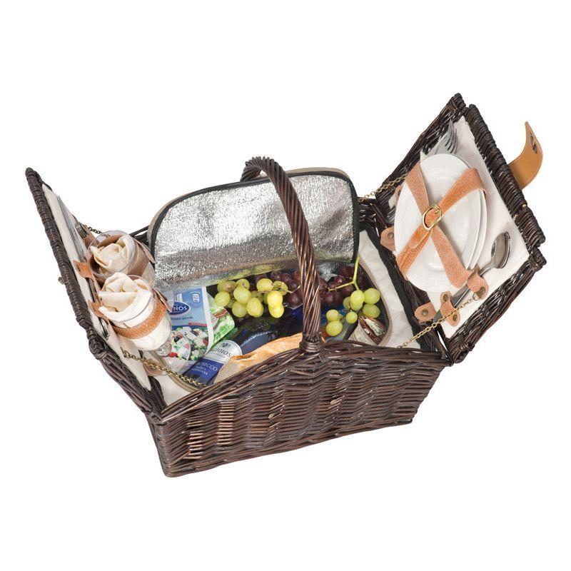Cesta de picnic para regalo publicitario Melior10