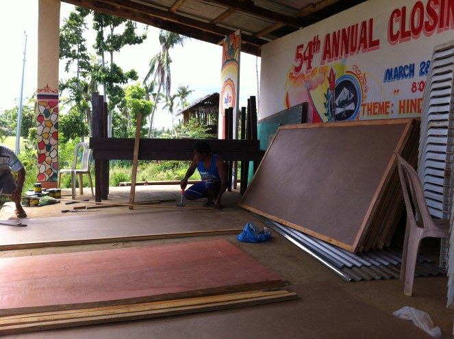 blackboard construction