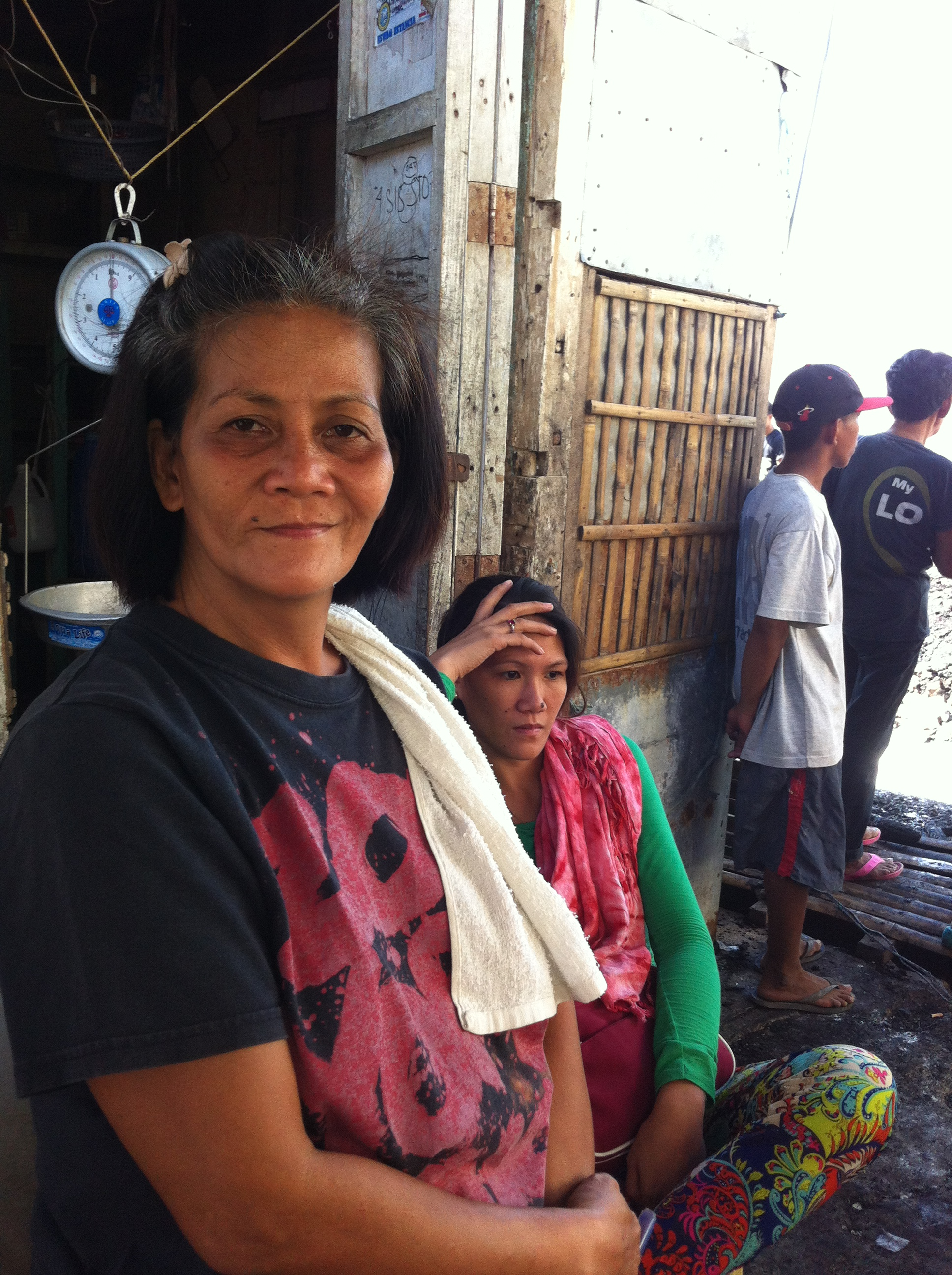 """""""At least after Typhoon Yolanda we were able to salvage some stock. This fire has taken everything"""""""