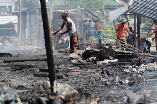 Fire razed the Estancia Public Market