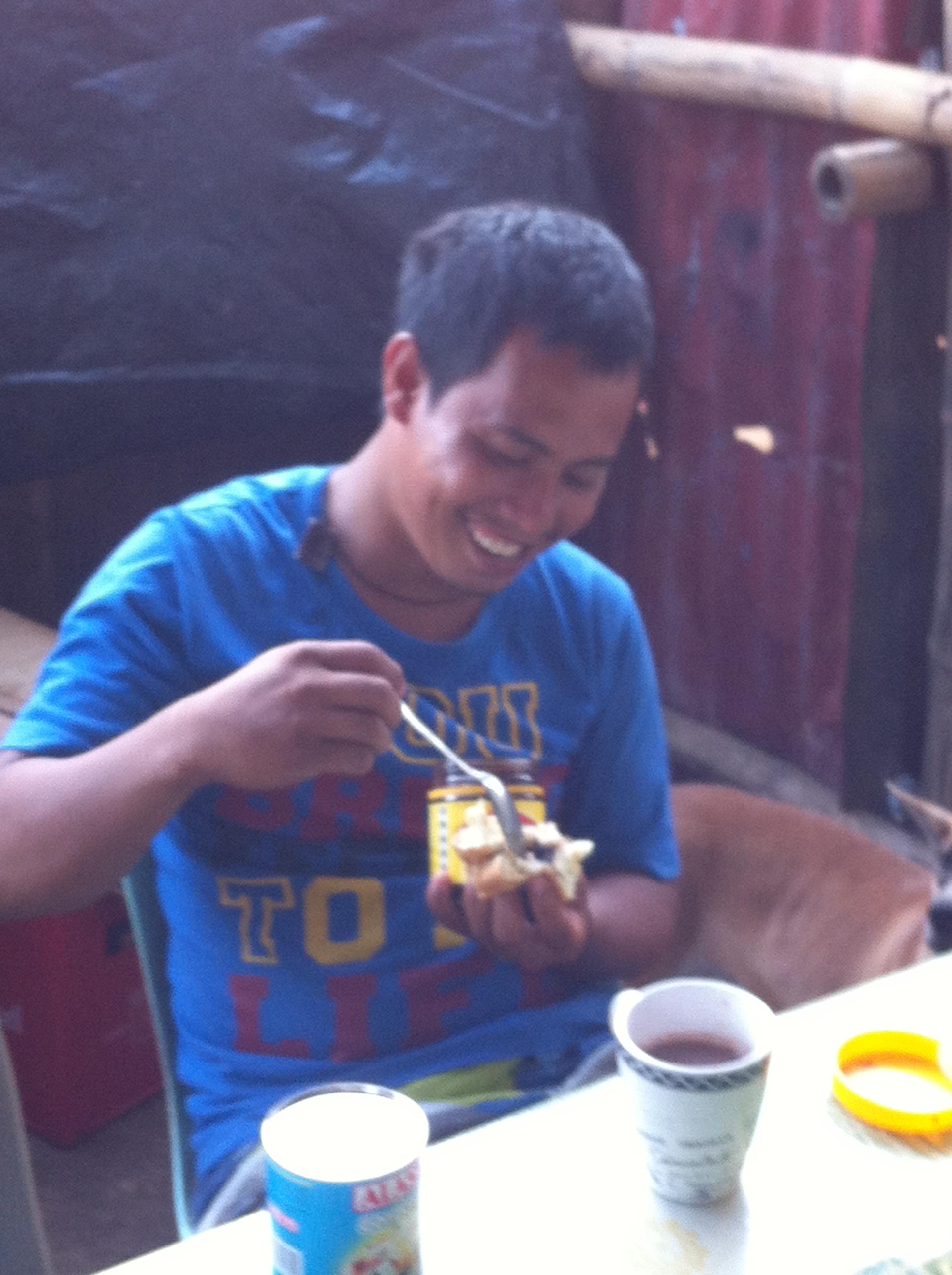 Jon Marc, the only Philippino who likes vegemite.