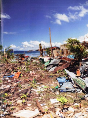 Typhoon Yolanda in Marabut