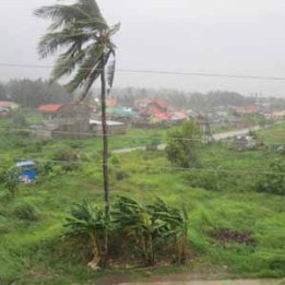 Typhoon Ruby spares Estancia.