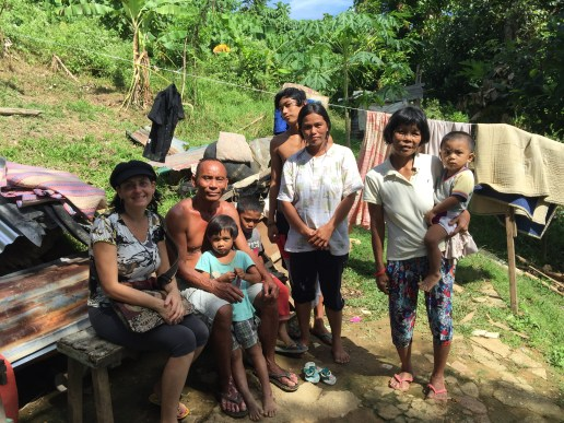 My friend Jac Gallagher is sponsoring this Pinoy family.