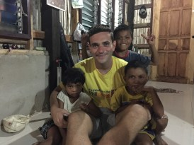 Everyone loves Matt, especially the kids.