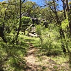 rock art site at mount yarrowyk