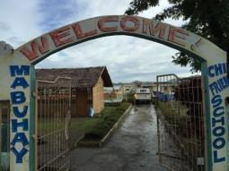 entrance to botongon elementary school
