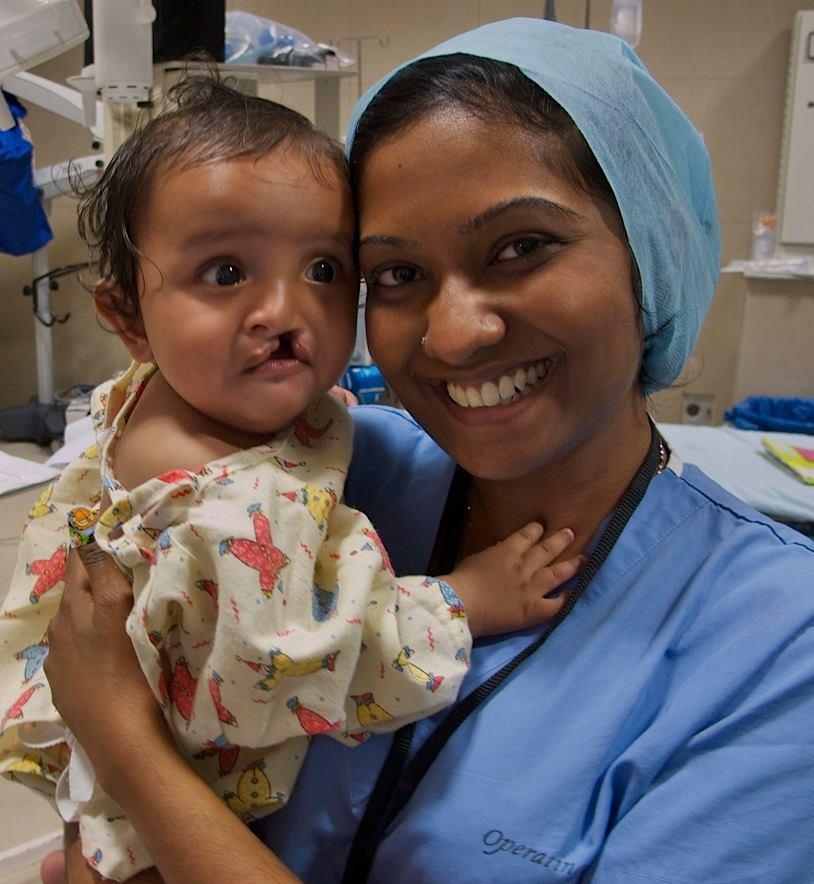 kana and baby operation smile