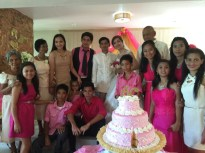 Wedding of Nichol and Ronalyn - family of the groom
