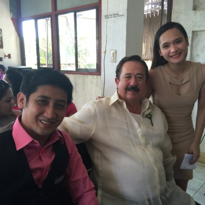 Wedding of Nichol and Ronalyn - finding a new family member