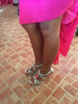 Wedding of Nichol and Ronalyn - sexy shoes