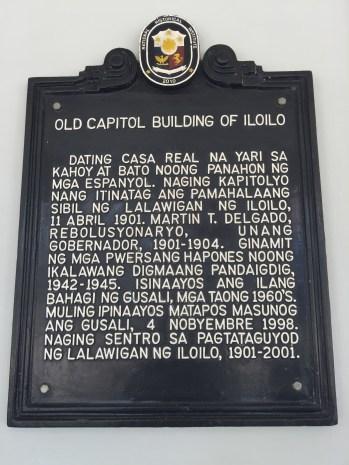 old capitol building of iloilo