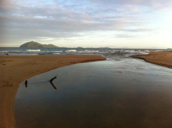 Porter's Creek running out to Dunk Island! 27/10/2012