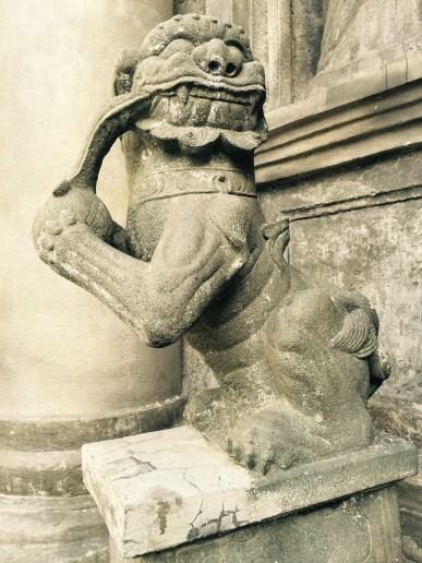 demons shroud the church