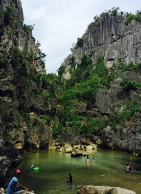 gigantes hidden lagoon