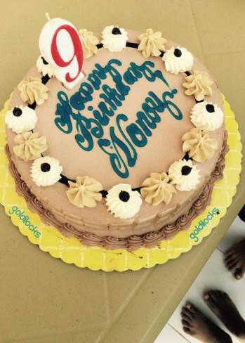 noy's birthday cake