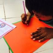 drawing paisley