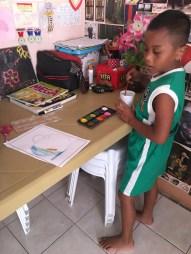 jerry the little artist