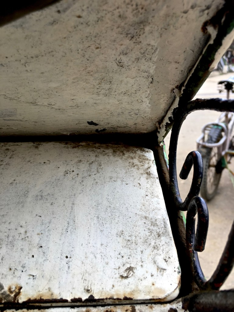 metal tricycle frame