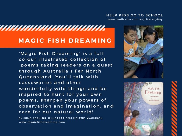 Magic Fish Dreaming a book of poetry by June Perkins