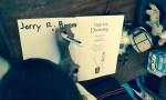 Jerry writes his name inside Magic Fish Dreaming
