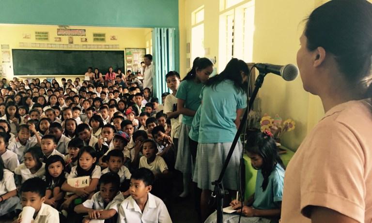 Grade 6 Science Advisor, Ma'am Manellii talks about climate change