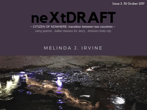 neXtDRAFT an eZine by Melinda J. Irvine Issue 3. ver2