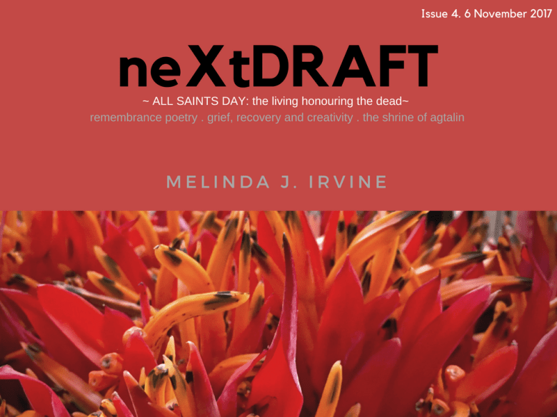 neXtDRAFT an eZine by Melinda J. Irvine Issue 4.