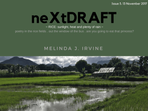 neXtDRAFT an eZine by Melinda J. Irvine Issue 5.