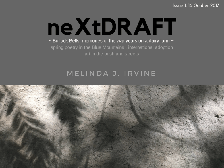 neXtDRAFT eZine by Melinda J. Irvine Issue 1.
