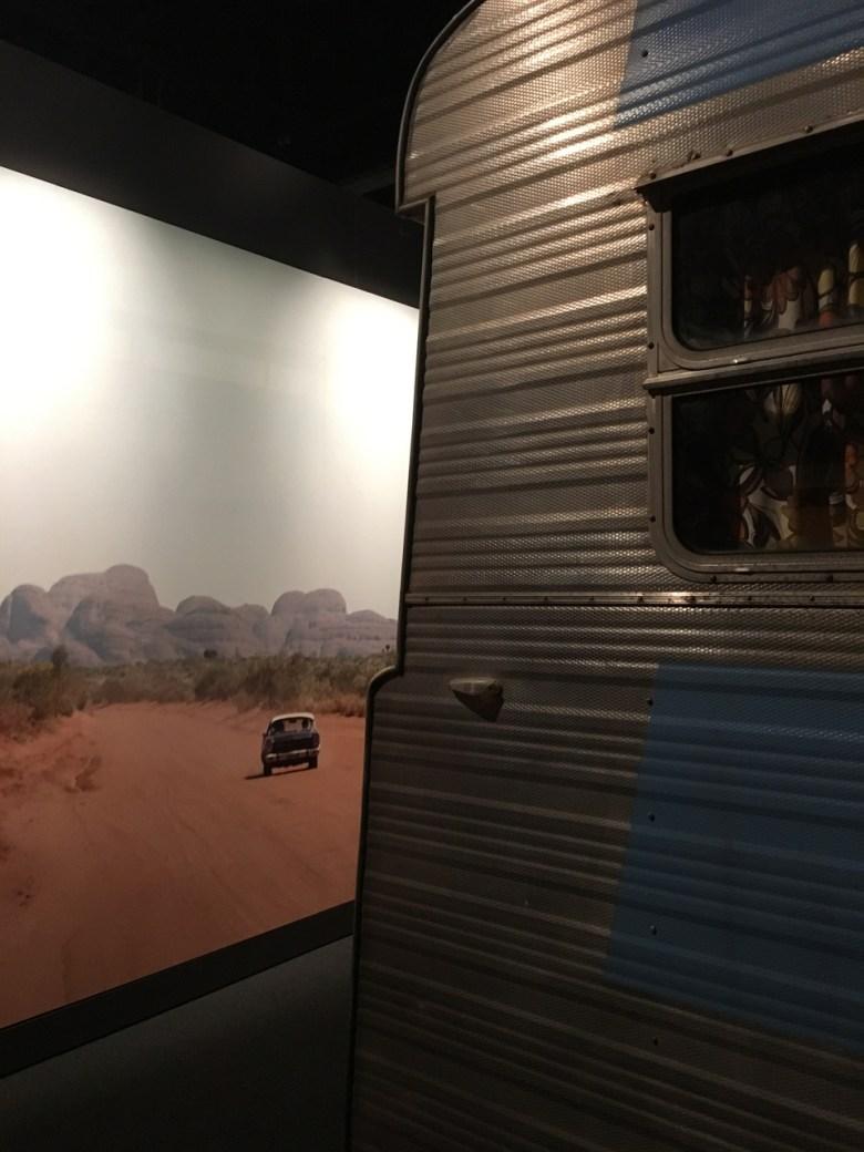 slim dusty's car and caravan
