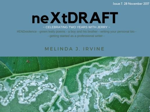 neXtDRAFT an eZine by Melinda J. Irvine Issue 7.