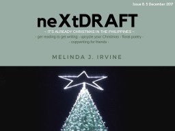 neXtDRAFT an eZine by Melinda J. Irvine Issue 8.