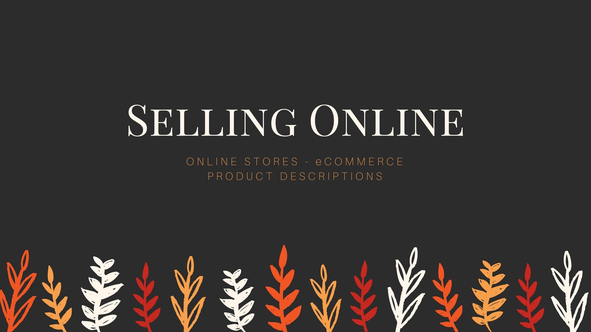 Copywriter Melinda J. Irvine helps online retailers sell online