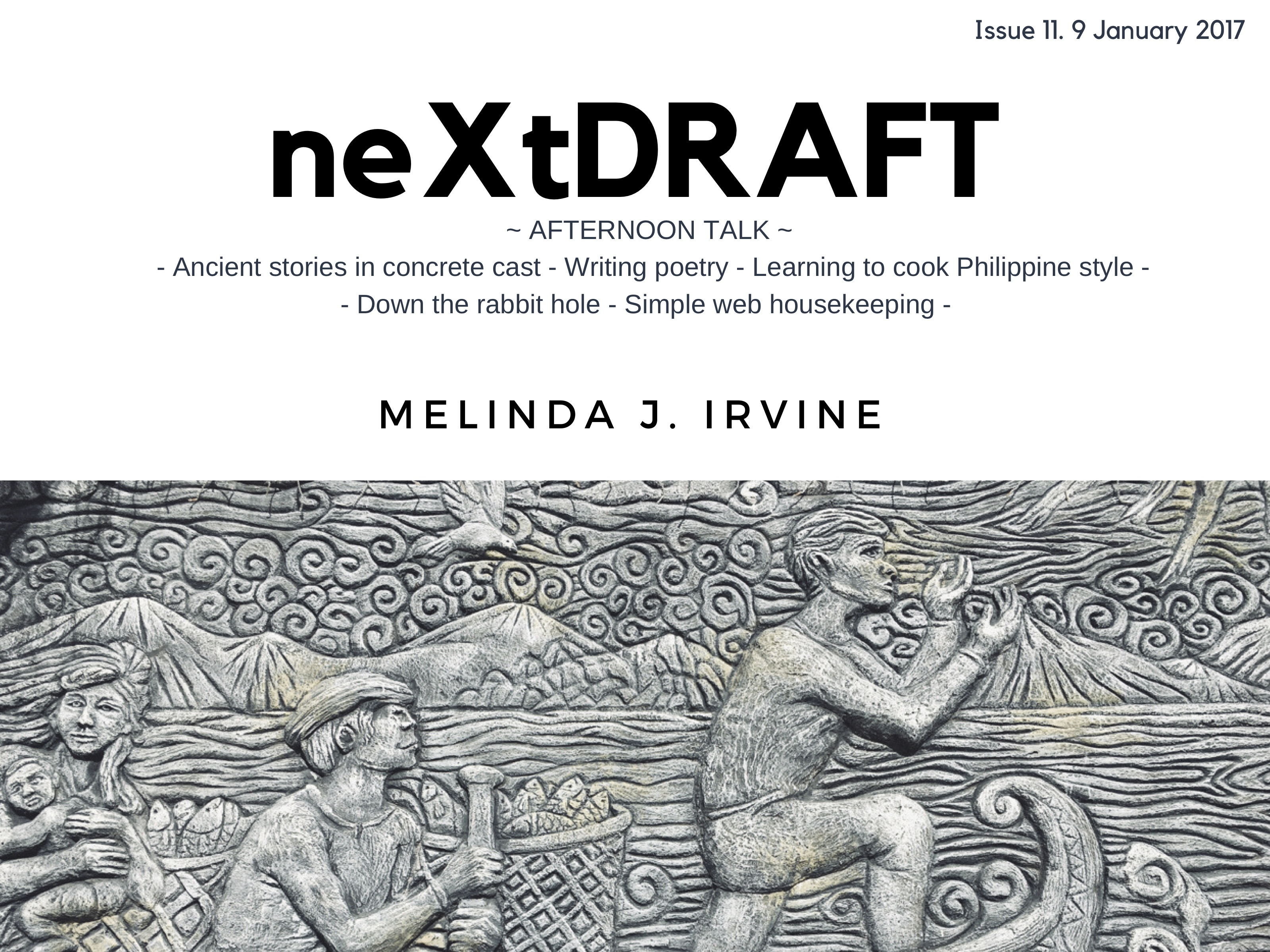 neXtDRAFT an eZine by Melinda J. Irvine Issue 11.
