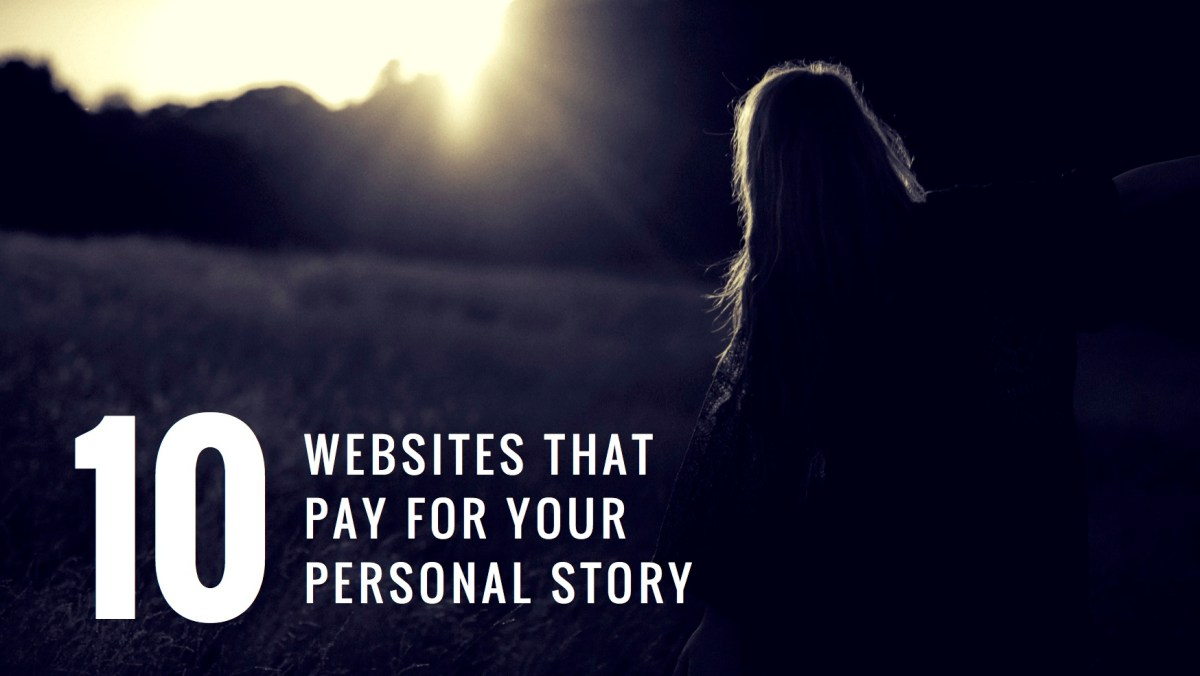 Get Paid to Write Your Personal Story
