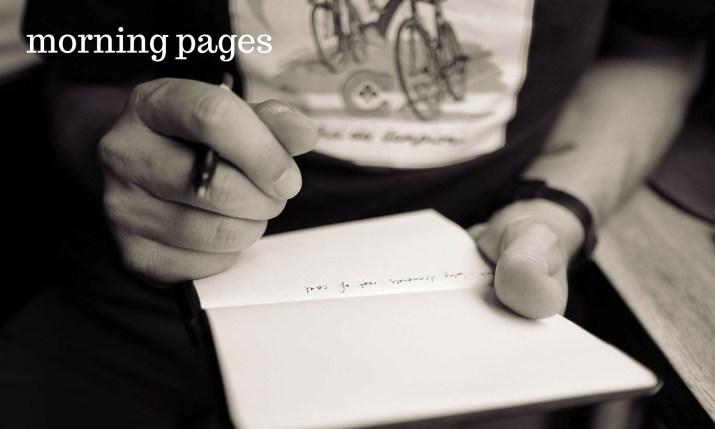 Melinda J. Irvine morning-pages