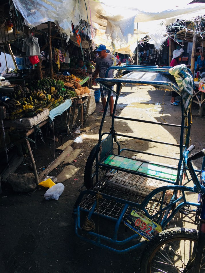 battered market in estancia