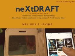 neXtDRAFT an eZine by Melinda J. Irvine Issue 17.