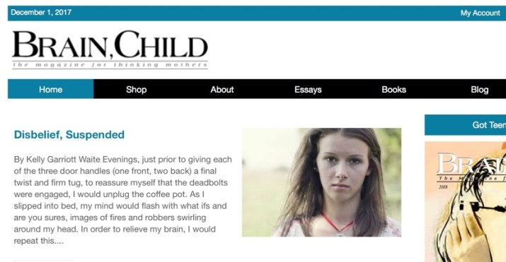 get paid to write your personal story for BrainChild