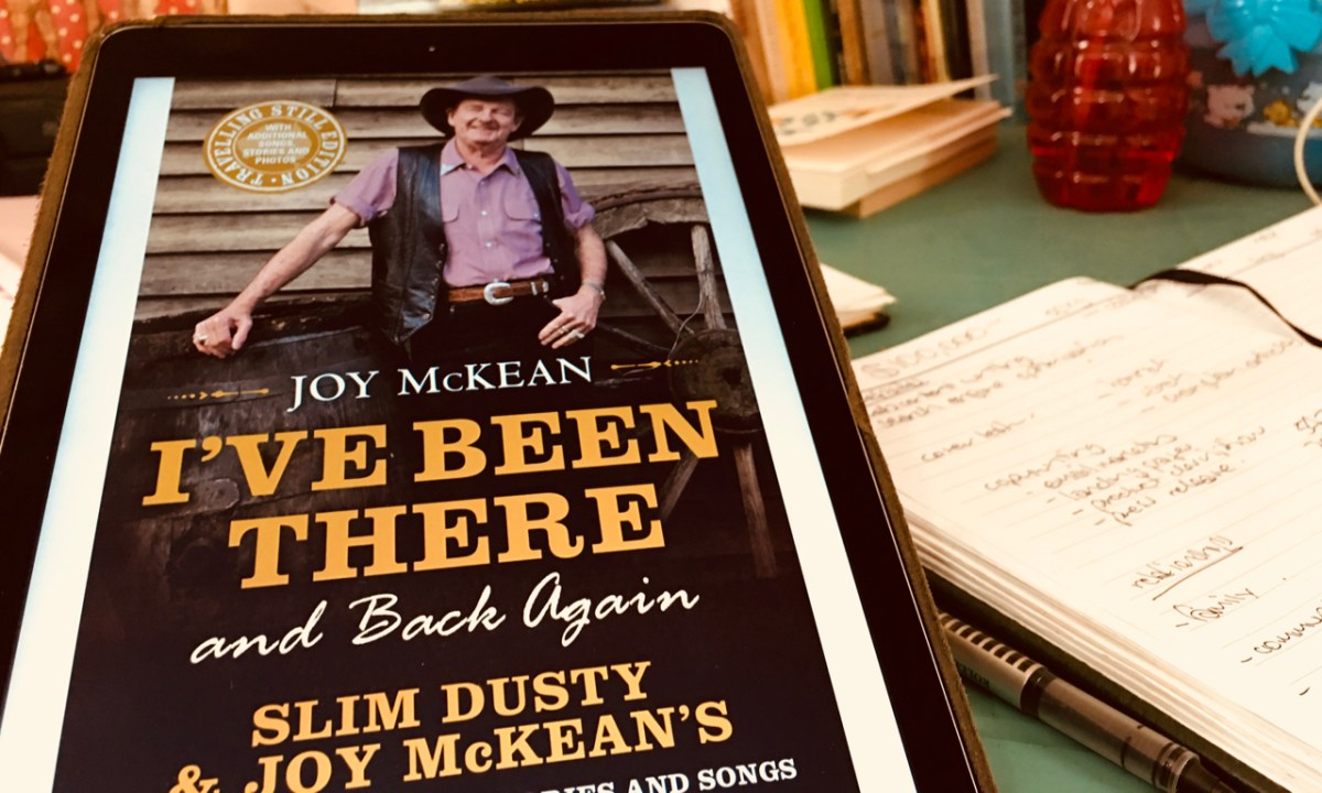 Book Review: I've Been There and Back Again by Joy McKean