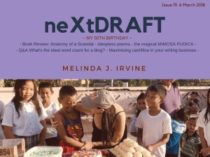 neXtDRAFT an eZine by Melinda J. Irvine Issue 19.