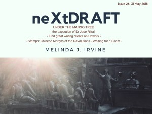 neXtDRAFT an eZine by Melinda J. Irvine Issue 26.