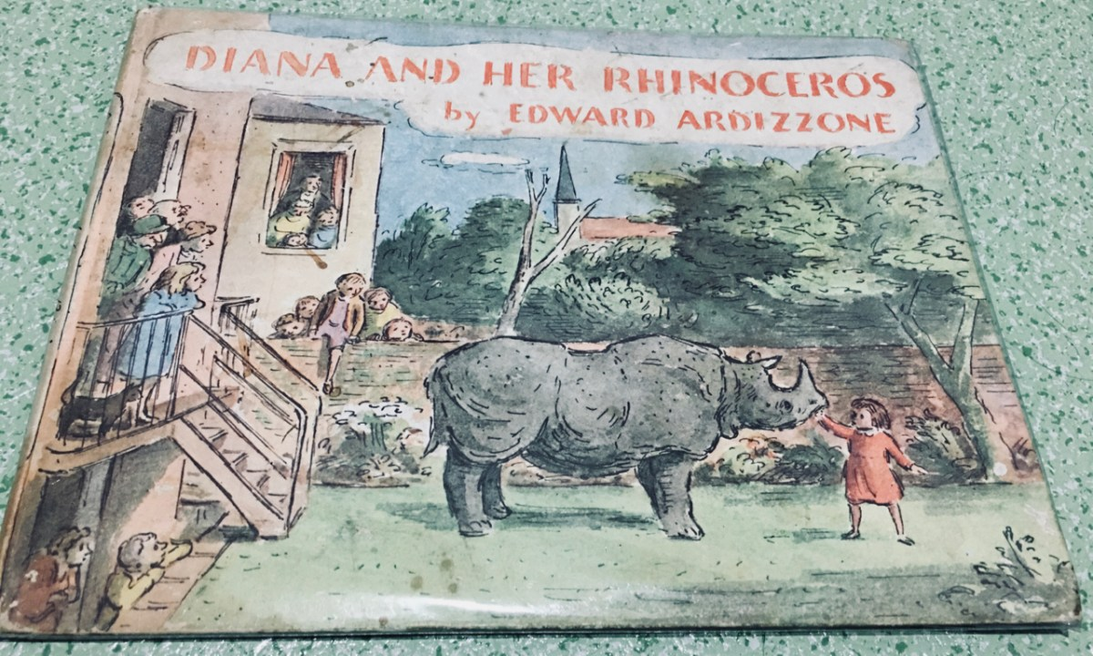 Book Review: Diana and Her Rhinoceros by Edward Ardizzone