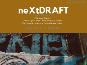 neXtDRAFT an eZine by Melinda J. Irvine Issue 29.