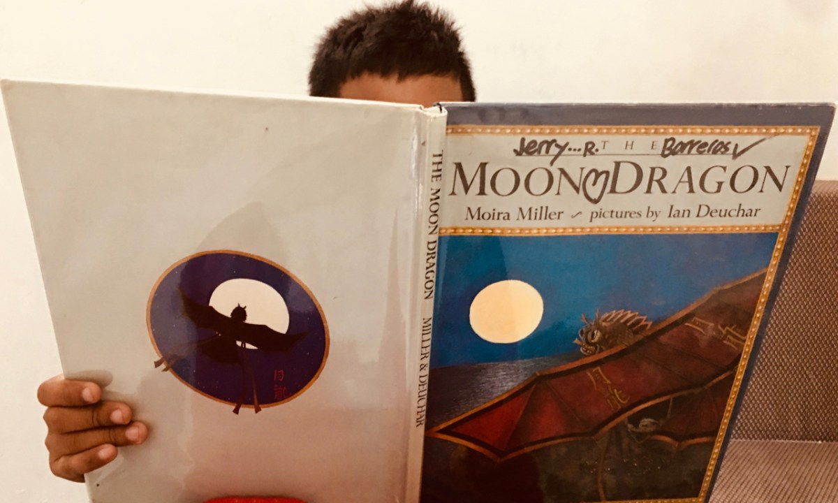 Book Review: The Moon Dragon by Moira Miller