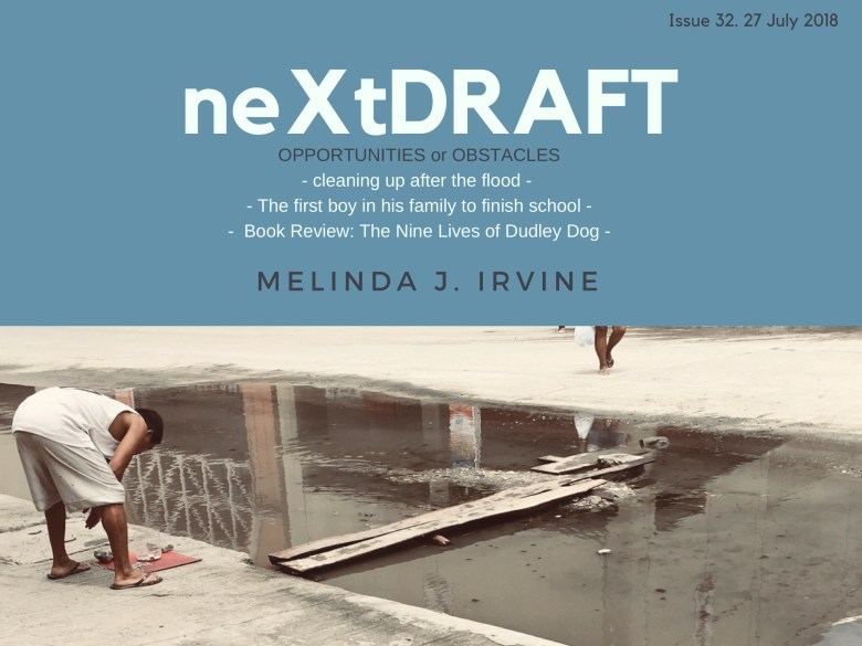 neXtDRAFT an eZine by Melinda J. Irvine Issue 32.