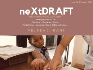 neXtDRAFT an eZine by Melinda J. Irvine Issue 34. v3